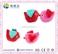 Creative Pull Apart Kissing Birds Plush Toy Valentine's Day Gift