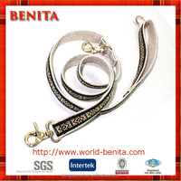Heavy Duty metal clasp hemp dog leash