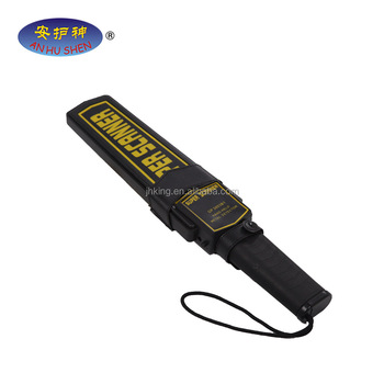 Check airport & station security portable super scanner hand held metal detector