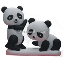 advertising high quality double Chinese lovely inflatable panda/inflatable toy