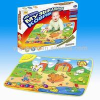 YQ2965 FARM PRINTED FLOOR MAT FOR BABY