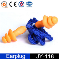 Christmas Tree Silicone Hearing Protection Earplugs with Corded