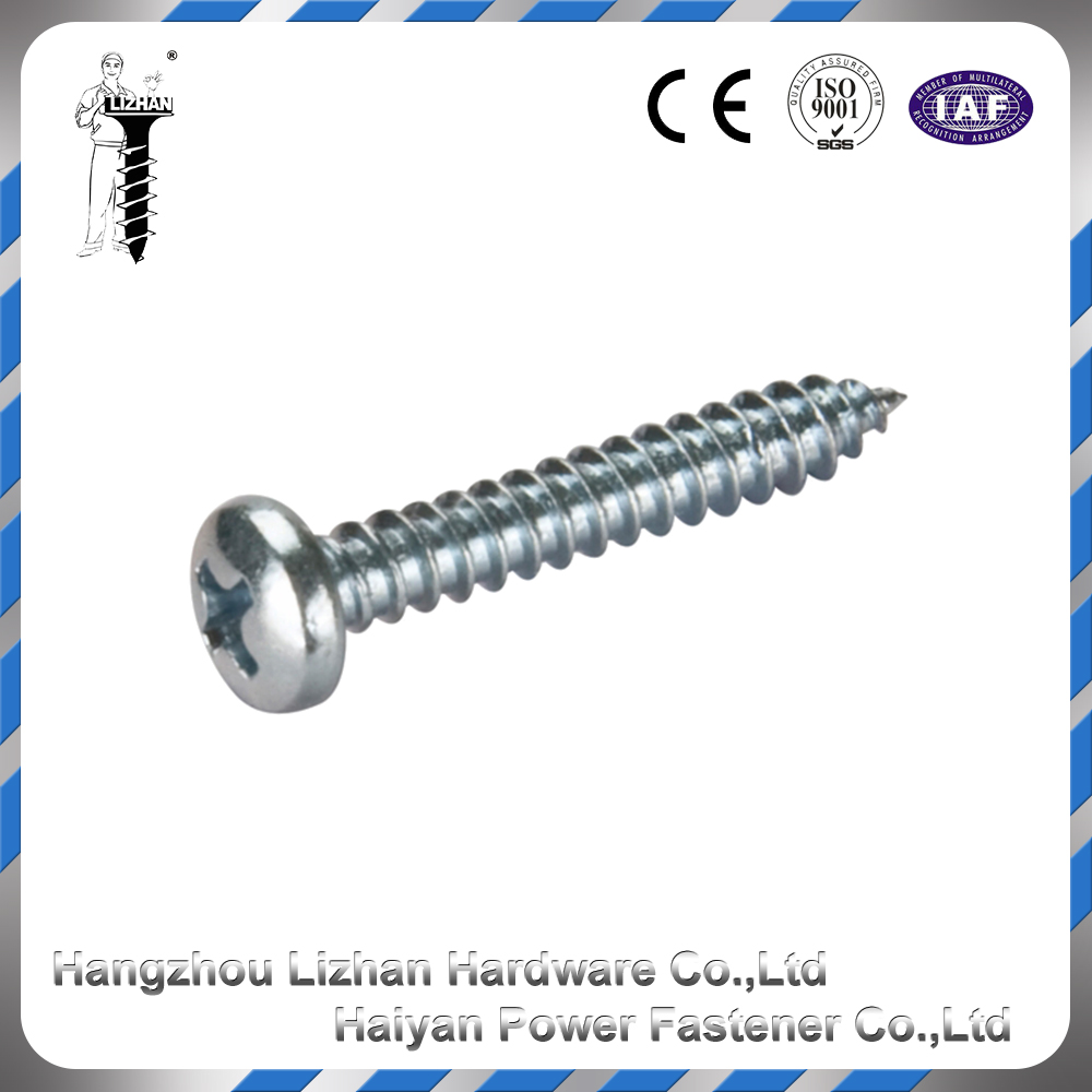 2016 China nail truss head drivers znic plated self drilling screw