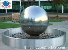 SS304 Big size stainless steel hollow ball/ Large mirror steel balls