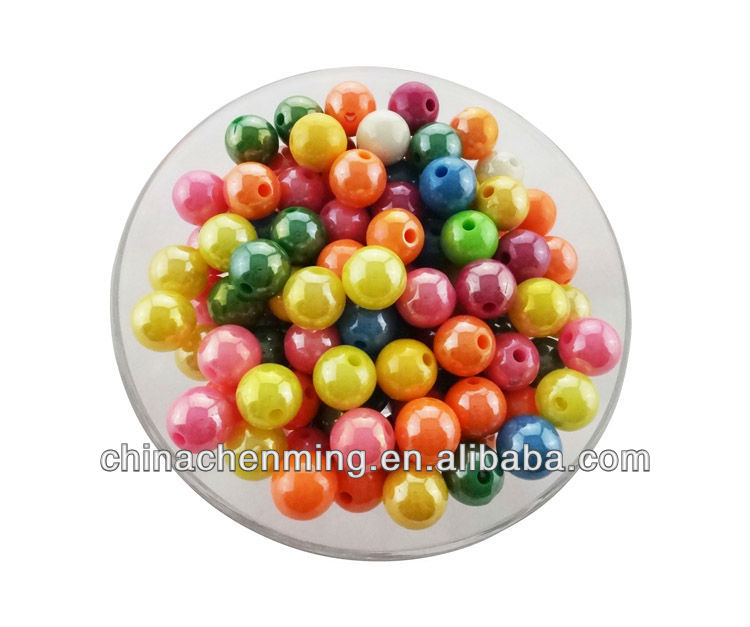 mixed color wholesale rosary making 12mm round bead