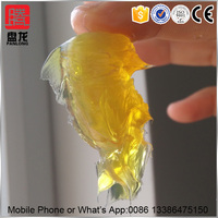 transparent yellow lubricating grease