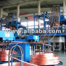 Up casting Machine for Copper tubes