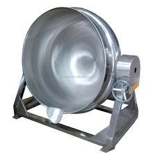 SS304 SS316 50L Fixed type, tilting type, Stir type steam pot cooking kettle used for cooking sauce paste
