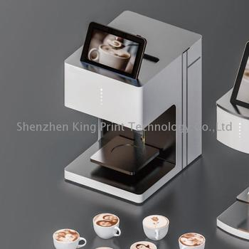 Coffee art machine