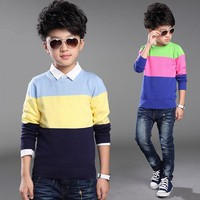 Fashion baby boy wool sweater designs