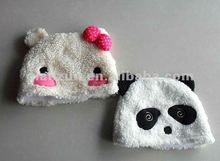 handmade child warm winter panda hats