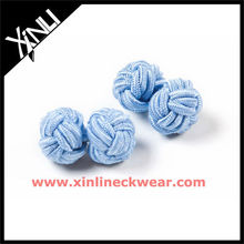 2013 New Silk Knot Cufflinks Custom Cufflinks