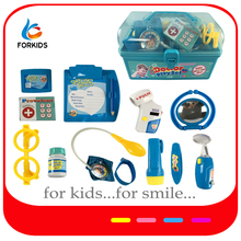 HIGH QUALITY PLASTIC ROLE PLAY DOCTOR KIT TOYS MODELS FOR PRECHOOL KINDERGARTEN KID'S ROLE PLAY GAME,KIDS MEDINCAL KIT TOY SET