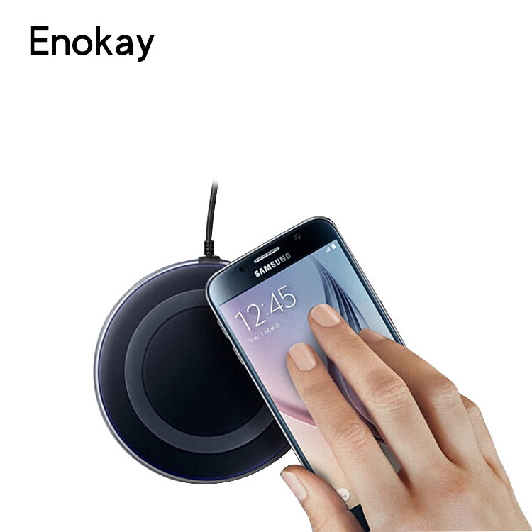 Fast Charging Qi Wireless Charger For Samsung S6 , Nokia Lumia , Charge Pad For Samsung S6