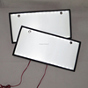 LED backlit car lighting blank number plate exit lit sign led backlit car number plate