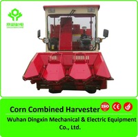 Corn combine picker /mini maize combine tractor mounted harvester /corn maize combine harvester