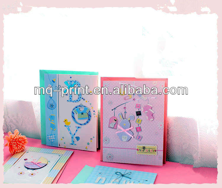 Cute 3D Birthday Cards for Baby