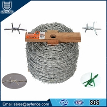 Nylon Coated Single Double Twist Barbed Iron Wire for Military Wholesale