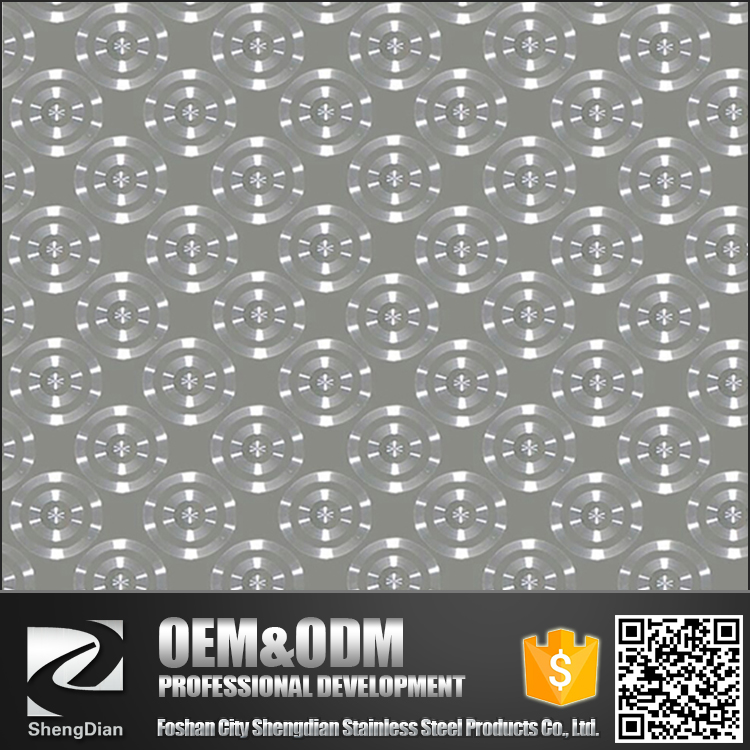 Hot 304 Decorative Colored 2mm Decorative Wall Panel Stainless Steel Sheet Fashion For Industrial Kitchen
