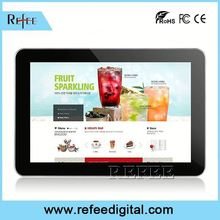media player price/digital signage price/32 inch wifi programmable lcd advertising display