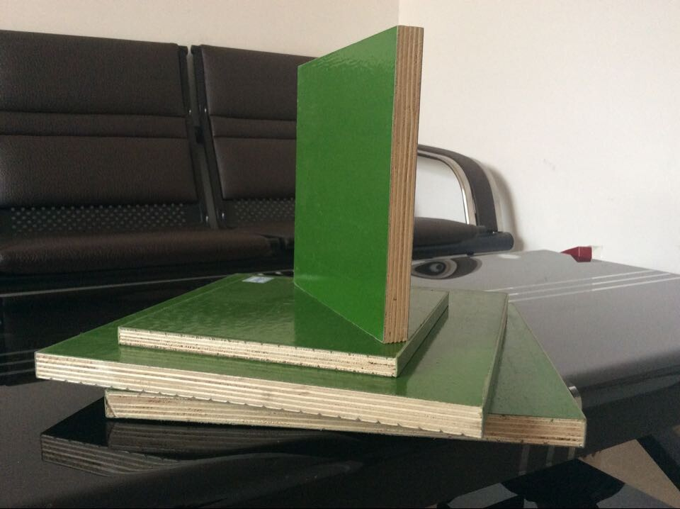 Pp Faced Plywood ~ Pp plastic coated plywood green color