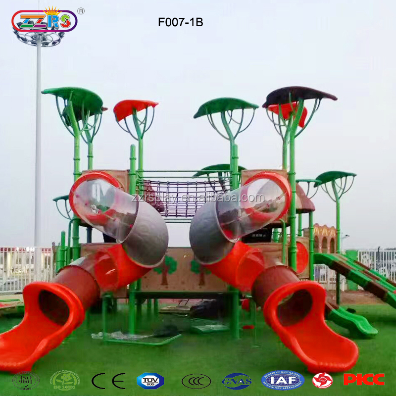 18th anniversary factory direct sale kids plastic tubes playground