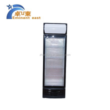 Discount double glass door fresh meat display refrigerator