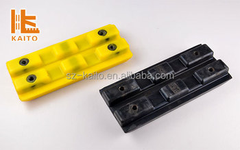 Polyurethane Track Pad For Construction Machinery