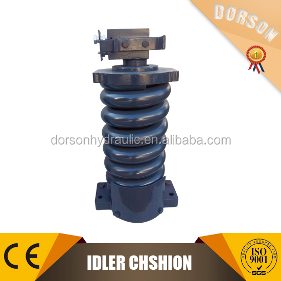Construction machinery excavator parts track adjuster assy with idler CAT320C