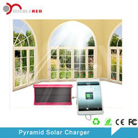 Latest electronic gadget Pyramid mobile solar battery bank for cellphone