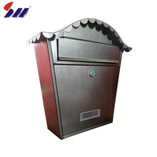 New design wholesale home outdoor craft metal mailbox post