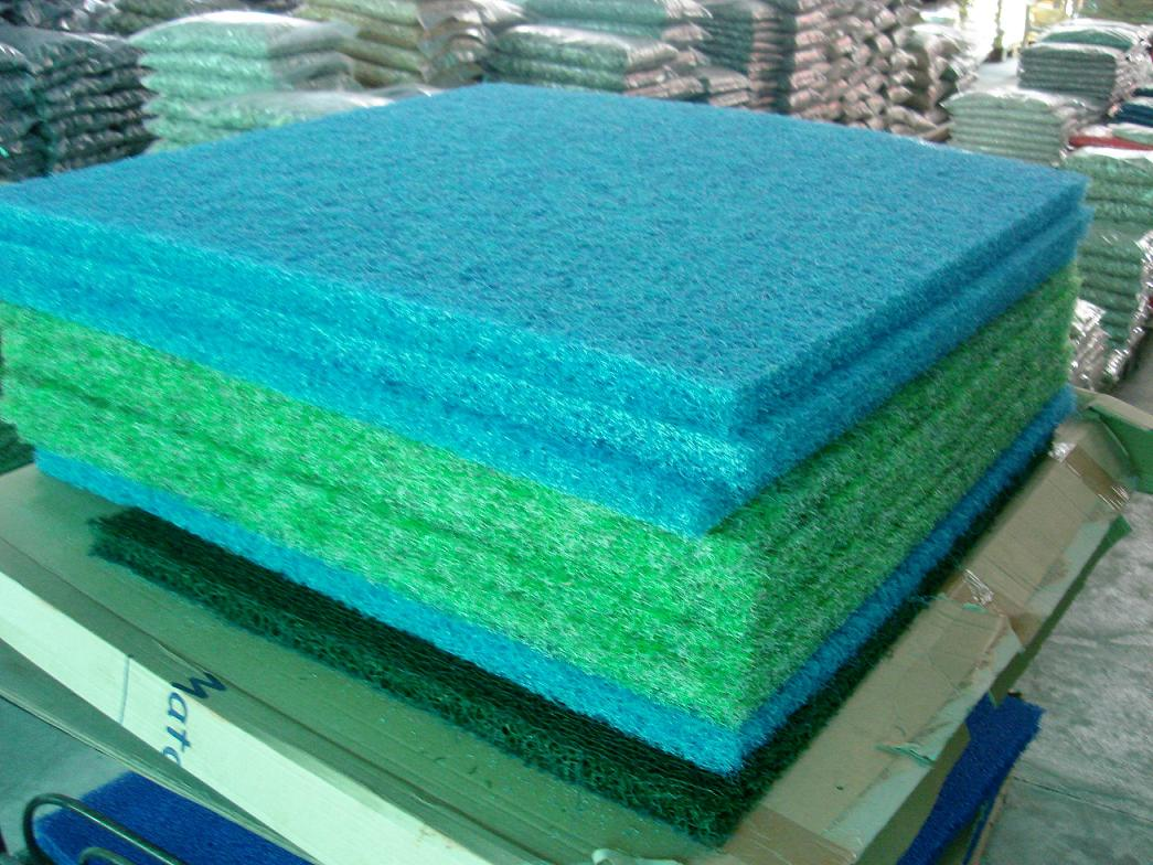 Eco friendly and popular japanese biological filter mat for Used fish pond filters