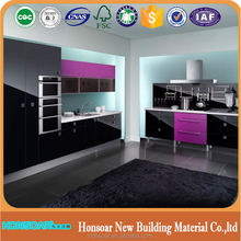 American styles pvc or solid wood kitchen cabinet design for global projects