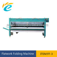 all ironing machine matched hotel sheet folding and packing