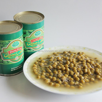 2017 new crop canned vegetable Green peas 397g
