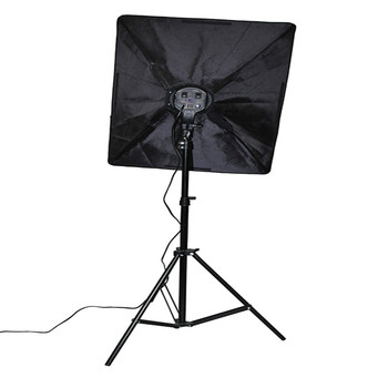 Photo Studio Light Kit with Photography Light Stand Two 50 * 70cm Softbox two 2m Light Holder include four lamps