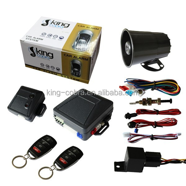 Alarma Sensor de Impacto externo car over speed alarm specially for south America