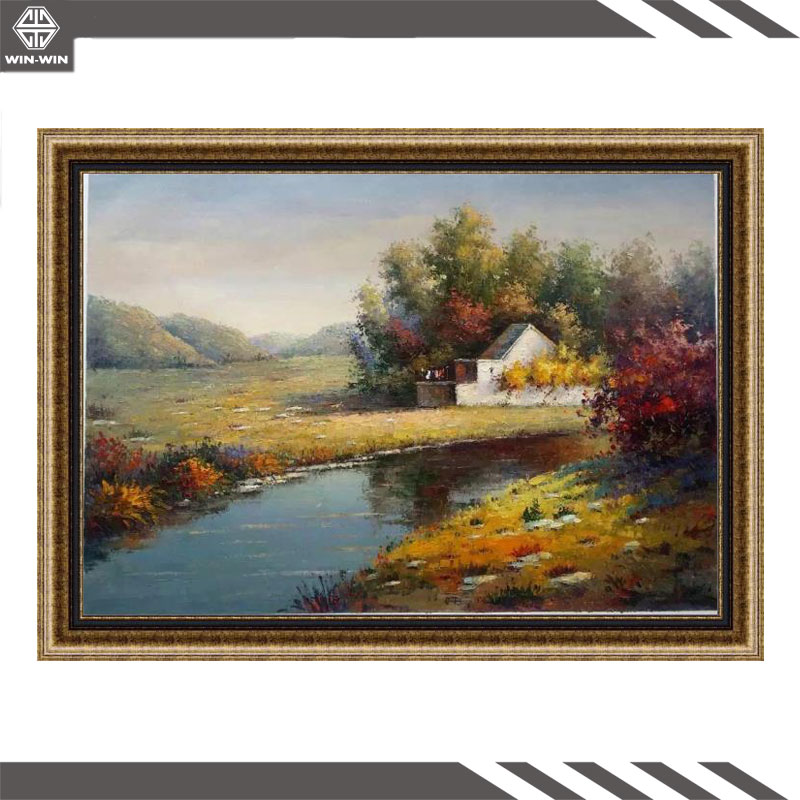 High Quality Handpainted Canvas Beautiful Nature Scenery Oil Painting <strong>Art</strong> for Modern Home Decoration
