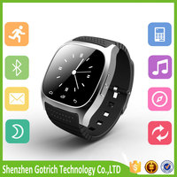 Hot sales digital watch with bluetooth touch screen watch smart cell phone for wholesales smartwatch bluetooth