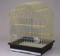 foldable gold color bird breeding cage parrot cage