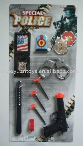 Military Item Police toy Set