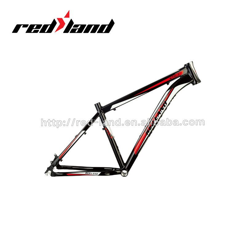 Redland Bike Parts Bicycle Frame XCT-5 Black and Red MTB Mountain bike frame