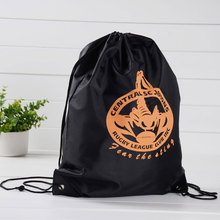 Gymbag Large Drawstring Backpack Sackpack for Shopping Sport Yoga