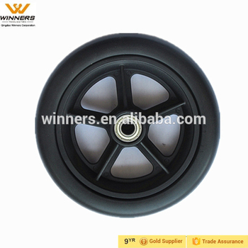 6 inch Eva Foam filled wheels for baby trolly