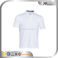 men's latested new design solid color short sleeve polo t shirt