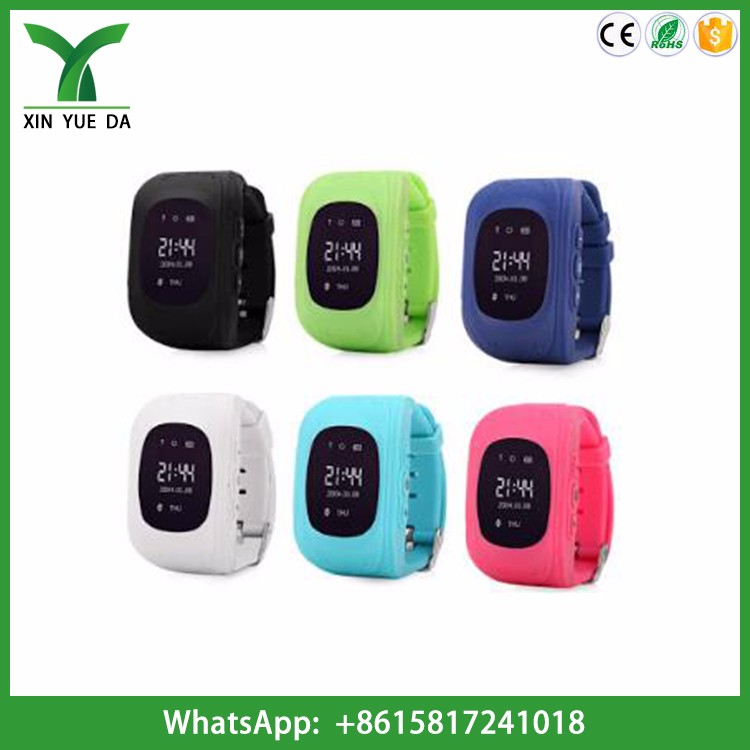 Shenzhen factory wholesale Q50 smart watch gps tracker for kids