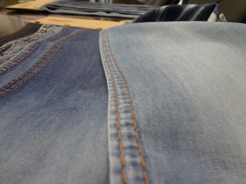 2016 china factory exported price light modal blending denim fabrics sales