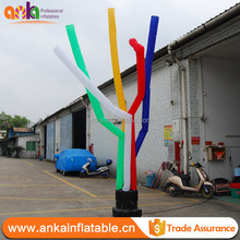 Cheap multiply color inflatable long air tube/sky tube for events decoration