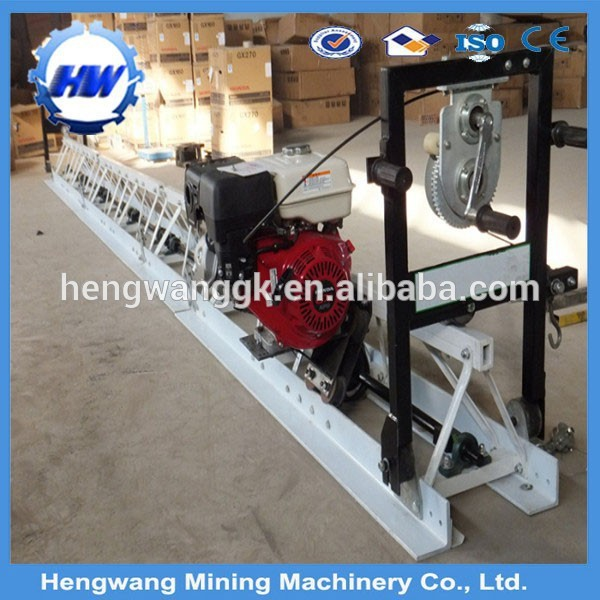 Vibratory truss screed concrete smoother/concrete floor leveling machine
