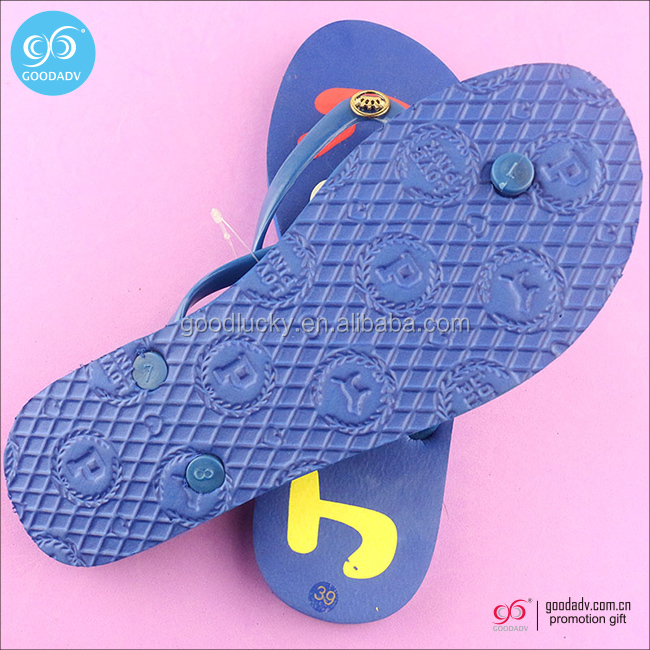 wholesale slipper fashion rubber flip flop for man/woman outdoor/indoor soft plastic eva slipper